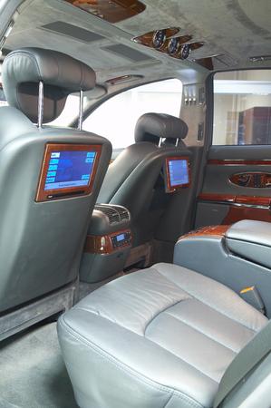 my dear: Photo of interior of dear car...