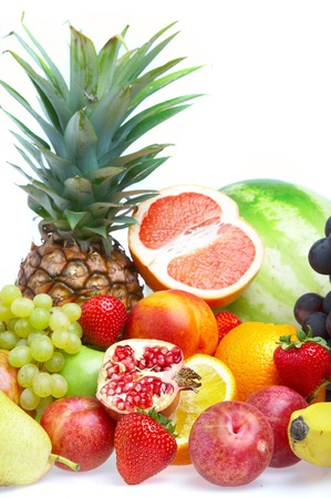Ripe fresh fruit. Wholesome food. Stock Photo - 1599374