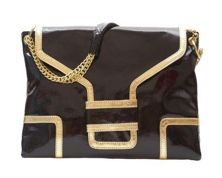 Ladies\' handbag on a white background