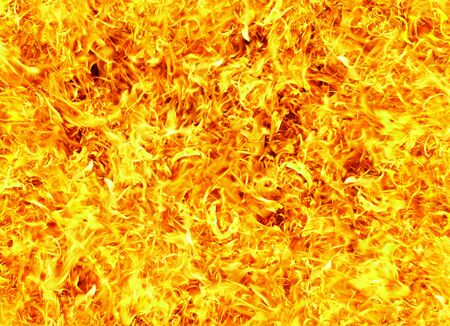Fire photo on a black background ... Stock Photo - 3515643