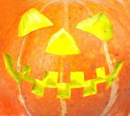 scary old jack-o-lantern... photo
