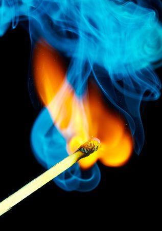 lucifers: Wedstrijd vlammen en rook ...