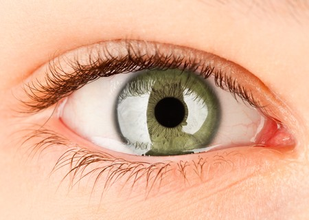 Human eye close up ... Stock Photo - 7033251