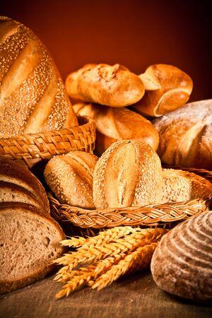 Fresh and soft tasty bread Stock Photo - 8963978