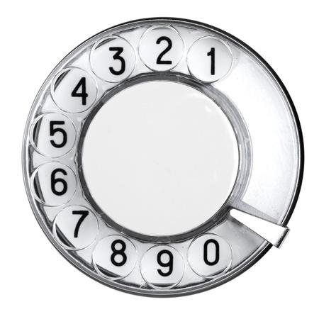 rotative: Vieux t�l�phone r�tro, un num�ro de composition