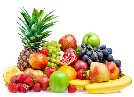 Ripe fresh fruit. Wholesome food. Stock Photo - 13726305