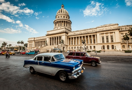 Havana, Cuba - on June, 7th. capital building of Cuba, 7th 2011. Stock Photo
