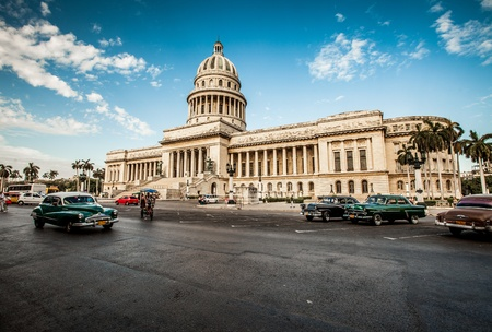 Havana, Cuba - on June, 7th. capital building of Cuba, 7th 2011. photo