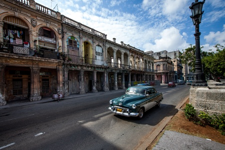 Havana, Cuba - on June, 7th. Havana city, 7th 2011. photo