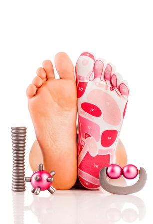 mimos: El masaje de las piernas Salud y belleza