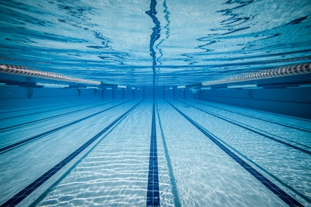 lanes: swimming pool under water ...