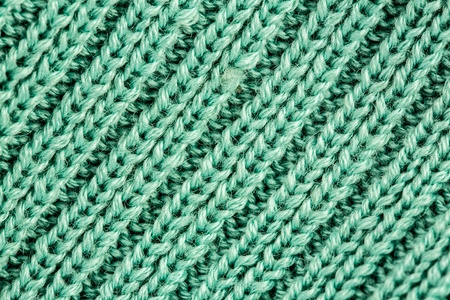 image of braided colored woollen yarns photo