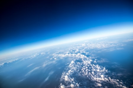 ozone: Photo Planet Earth aerial view Stock Photo