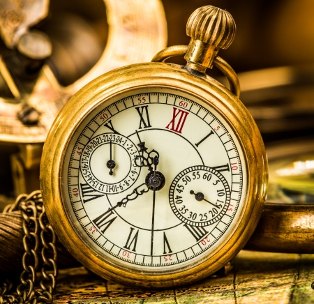 pocket watch: Vintage still life. Antique pocket watch.