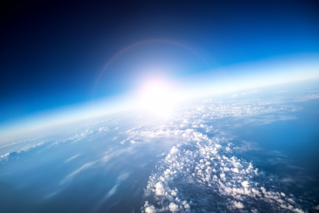heaven on earth: Photo Planet Earth aerial view Stock Photo