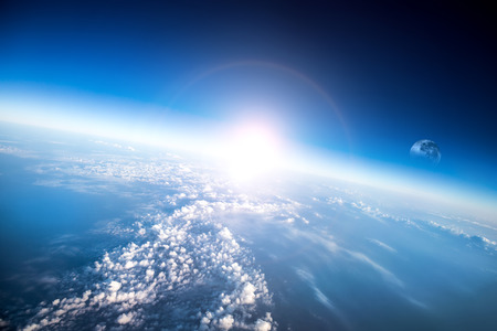 Photo Planet Earth aerial view Stock Photo