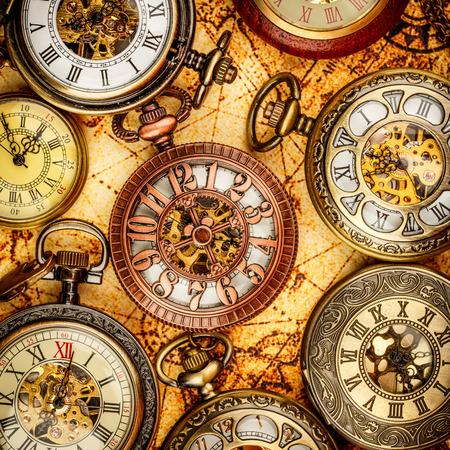 orologi antichi: Vintage antico orologio da tasca.