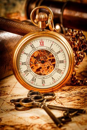 pocketwatch: Vintage Antique pocket watch.