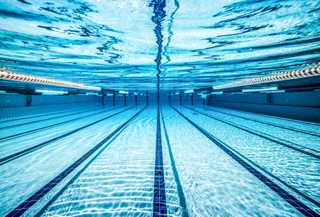 swimming pool under water ... Banco de Imagens - 40381207