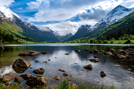 nature natural: Beautiful Nature Norway natural landscape.