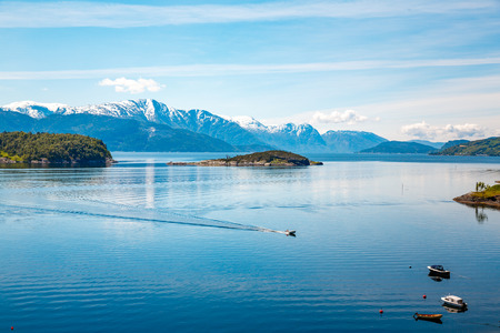 the north sea: Beautiful Nature Norway natural landscape.