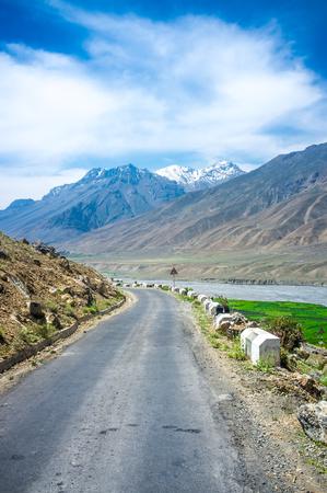 himachal pradesh: Road to Spiti Valley, Himachal Pradesh, India
