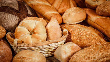 baked goods: Breads and baked goods close-up