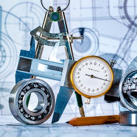 技術的な図面とツール