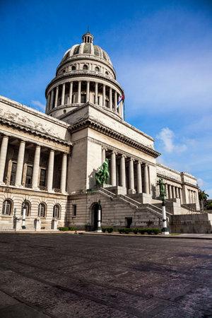 capitolio: Havana, Cuba - Famous National Capitol (Capitolio Nacional) building. Editorial