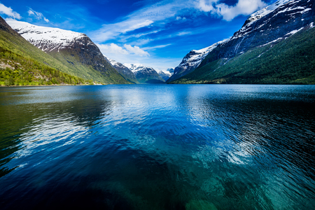 norway: Beautiful Nature Norway natural landscape.