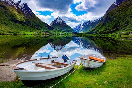 Beau paysage naturel Nature Norvège.