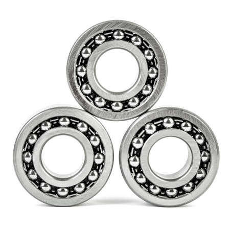 ball bearing: Ball bearing isolated on white background