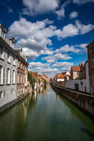 bruges: Bruges in Belgium old town