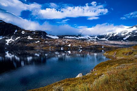 Beautiful Nature Norway natural landscape. 写真素材 - 125020149