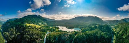 Beautiful Nature Norway natural landscape. 写真素材 - 128819930