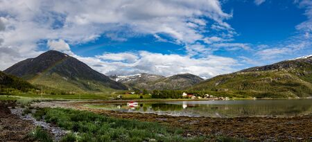 Beautiful Nature Norway natural landscape. 写真素材 - 128821014