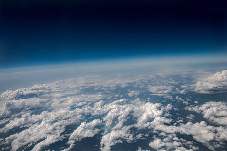 Photo Planet Earth aerial view Standard-Bild