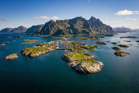 Panorama Lofoten is an archipelago in the county of Nordland, Norway