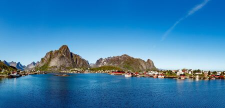 Panorama Lofoten is an archipelago in the county of Nordland, Norway.