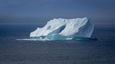 burg: Iceberg off the coast of Newfoundland and Labrador Stock Photo