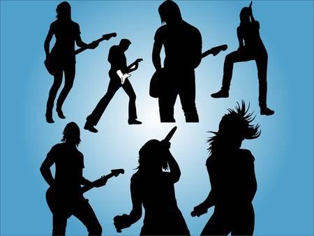 hard rock: Live Music People