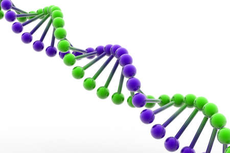 coding: 3d dna Stock Photo