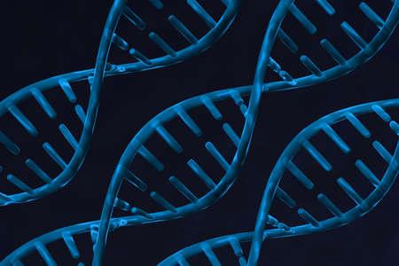 genom: Digital illustration of dna Stock Photo