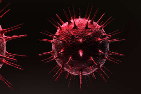 bloodcell: Virus Stock Photo