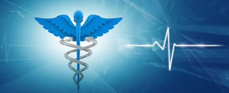 医学のシンボルに 写真素材