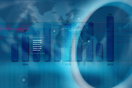 monitoring system: Abstract business background Stock Photo
