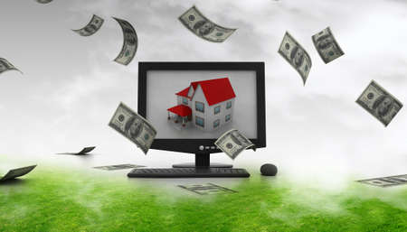 making Money in Real Estate Stock Photo - 10952471