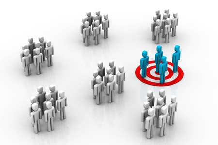 organised group: Target Market