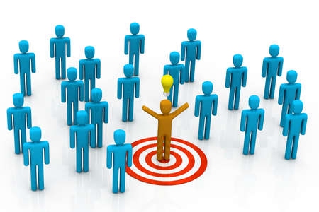 organised group: Different Team leader target