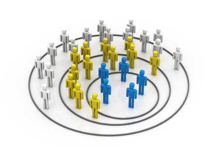 employment issues: Business organisation concept